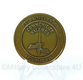 Defensie Coin 1 GE NL Corps 2003 - Exercise FIX Gainful Sword - origineel