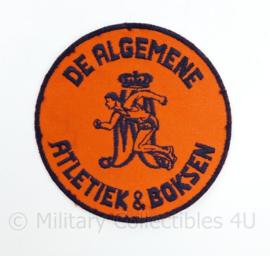MA Militaire Academie De Algemene Atletiek en boksen - diameter 10 cm - origineel