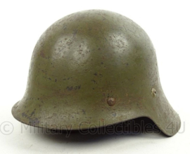 Spaanse M26 helm Burgeroorlog - met liner en kinriem - Zeldzaam - volledig origineel