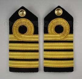 Marine admiraal schouderstuk set - overige uniformen