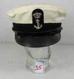 Koninklijke Marine platte pet - maat 58 - origineel