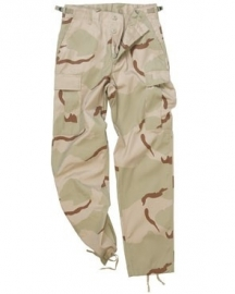 Tactical trouser BDU - 3-COL.DESERT