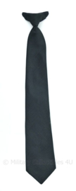Nederlandse Politie stropdas met clip cliptie 50 cm zwart - origineel