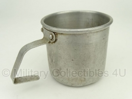 Alluminium Duitse drinkbeker - origineel WO2