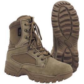 Mission boots - Coyote - nieuw gemaakt - maat 39 t/m 47