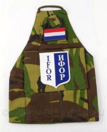 KL Koninklijke Landmacht IFOR armband - woodland - Origineel