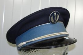 Franse Compagnies Républicaines de Sécurité visor cap -  55 cm. - origineel