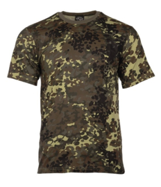 T shirt Bundeswehr flecktarn camo