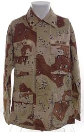 US Private first class 1e Golfoorlog field jacket DESERT Six-Color Desert Pattern 1990 - maat Medium-Regular - origineel
