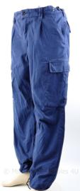 Politie ME broek blauw - maat 52 - gedragen - origineel