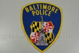 Baltimore Police Patch - origineel