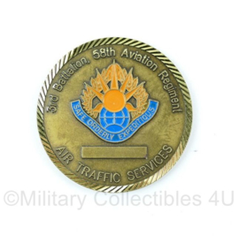 US Army Coin Commanders chip 3rd bataljon 58th Aviation regiment  - origineel