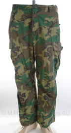 US Army ERDL poplin camo jungle fatique uniform broek zeldzaam 1970-  maat Medium/Regular - origineel
