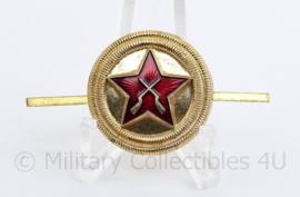 Russische USSR pet insigne - 5,5 x 3 cm  - origineel