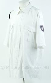 Handhaving overhemd wit korte mouw, gemeente Zoetermeer Inspecteur openbare ruimte - maat 46 - Origineel