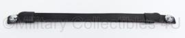 KMAR Marechaussee kinriem met bevestiging voor platte pet - verstelbaar 28 t/m 41 cm - origineel