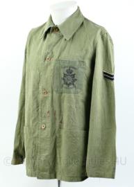 Korps Mariniers Dungaree shirt uit 1957 - maat 46 - origineel