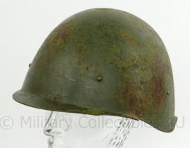 WO2 Russische SSH40 helm - gemaakt 1940, verfstempel 1943 - grote maat P2 - maker BKO - origineel
