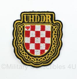 Kroatisch UHDDR war Volunteers Association embleem  - origineel