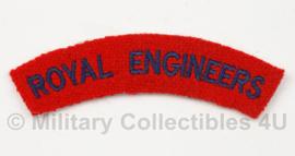 Britse 'Royal Engineers' shoulder title