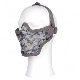 Airsoft half gezichtsmasker - ACU camo