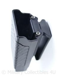 Politie en Kmar kunststof  koppeltas voor Glock magazijn - nieuw  -9 x 4 x 4 cm- origineel