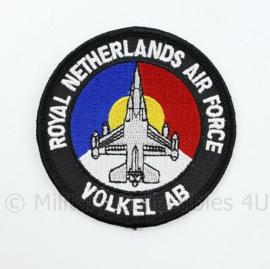 KLU Luchtmacht RNLAF Royal Netherlands Air Force volkel AB -  diameter 10 cm  - origineel