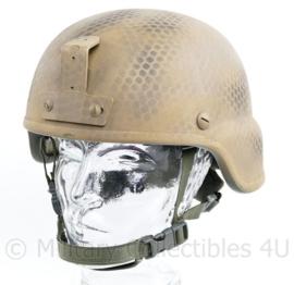 Defensie Armorsource AS200 helm camouflage - maat medium - NIJ IIIA - origineel