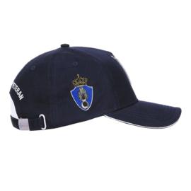 Baseball cap KMAR Koninklijke Marechaussee Dutch MP Veteran - blauw