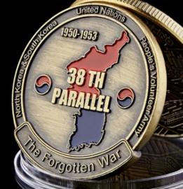 Coin The Korean War IX Corps 1950-1953 The forgotten War United Nations