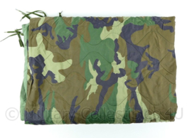 Korps Mariniers poncholiner Woodland Forest camo - 210 x 145,5 x 0,4 cm - origineel