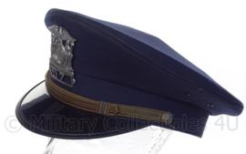 US Police cap Cornell University - blauw - maat 7 3/4 - Origineel