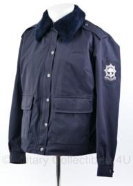 Nederlandse Korps Rijkspolitie Dames jas met bontkraag en met voering  -  Dames maat 44 - origineel