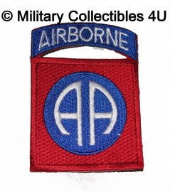 Patch 82nd airborne - 8 x 5,7 cm.