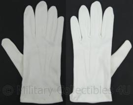 KL Landmacht parade GLT Gala tenue handschoenen wit - maat 14 - origineel