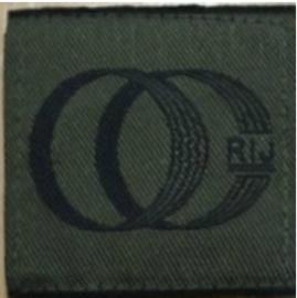 KL Koninklijke Landmacht OC RIJ Opleidings- en Trainingscentrum Rijden (OTCRij) borst embleem met klittenband - 4,8 x 4,8 cm - origineel