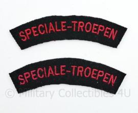 Nederlandse leger Speciale Troepen straatnamen paar 1945-1950 Nederlands Indie