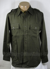 US officers chocolate shirt replica - US size 40 t/m 46