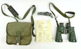 Defensie Ednar 6x42 verrekijker met draagtas en manual - zeldzaam - 16,5 x 20,5 x 10 cm - origineel