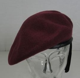 Airborne bordeaux rode baret - ook voor wo2 spelden - nieuw gemaakt