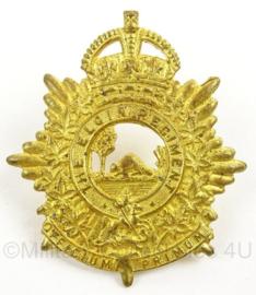 WO2 Canadees baret of pet insigne The Elgin Regiment - afmeting 4 x 5 cm - origineel