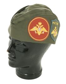 Russisch leger veteranen schuitje met insignes - nieuwstaat - meerdere maten - origineel