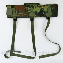 Padded Tasmanian Tiger Scope Weapon carry bag in flecktarn camo - ook als mat voor 2 poot te gebruiken - 41,5 x 9,5 x 5 cm - origineel