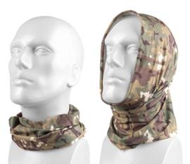 Multifunctioneel hoofddeksel - muts, balaclava, sjaal, hoofdband etc. - Multicamo