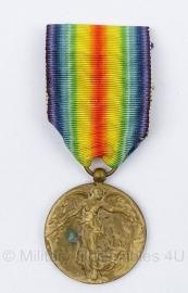 1914-1919 Victory medaille Belgie - Origineel
