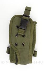 KL en KLu Koninklijke Landmacht en Luchtmacht MOLLE portofoon tas - groen - origineel