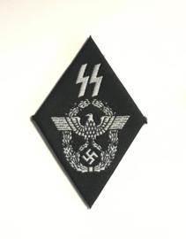 WO2 Duits Waffen SS Polizei arm embleem BEVO - replica