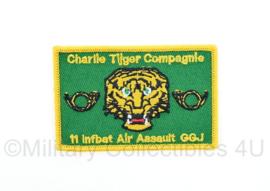 KL Nederlandse leger Luchtmobiele Brigade Charlie Tijger Compagnie 11 infbat Air Assault GGJ - 8 x 5 cm