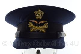 KLU platte pet onderofficier - maat 56 - origineel