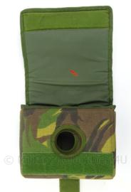 KL Landmacht woodland kabeltas voor Lion Optiek nachtzichtapparaat - afmeting 21,5 x 16 x 9 cm - origineel